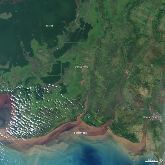 Foto Indonesia NASA