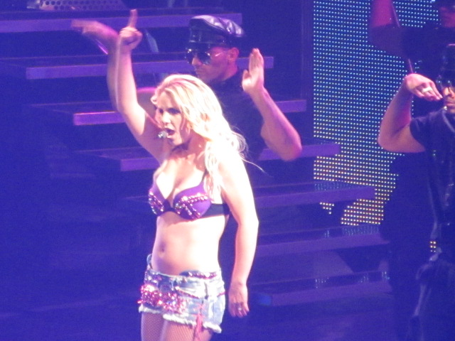 off by the awesomeness of Britney Spears and her Femme Fatale Tour