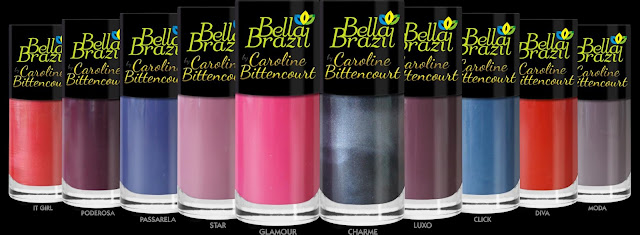 Lançamento Bella Brazil: Linha de Esmaltes assinados por Caroline Bittencourt