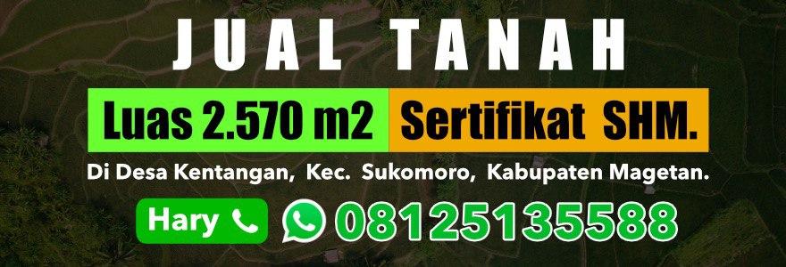Tanah Dijual di Magetan, WA Pemilik 0812 513 5588