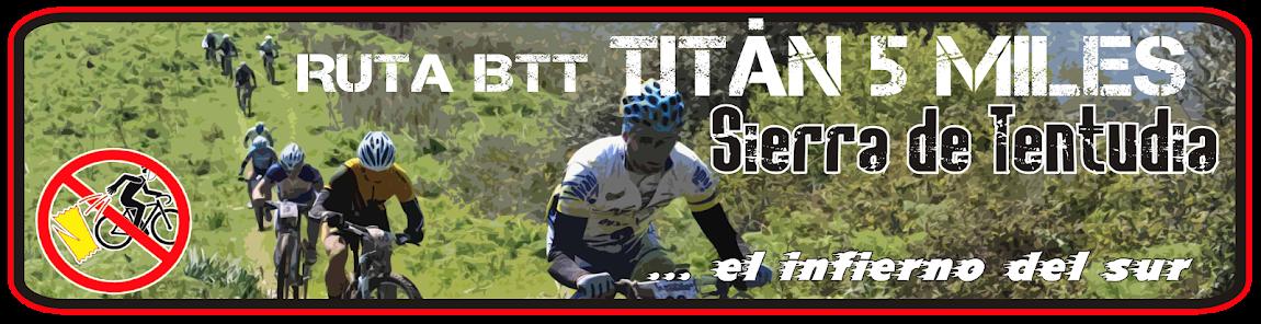 RUTA BTT 5 MILES - SIERRA DE TENTUDÍA