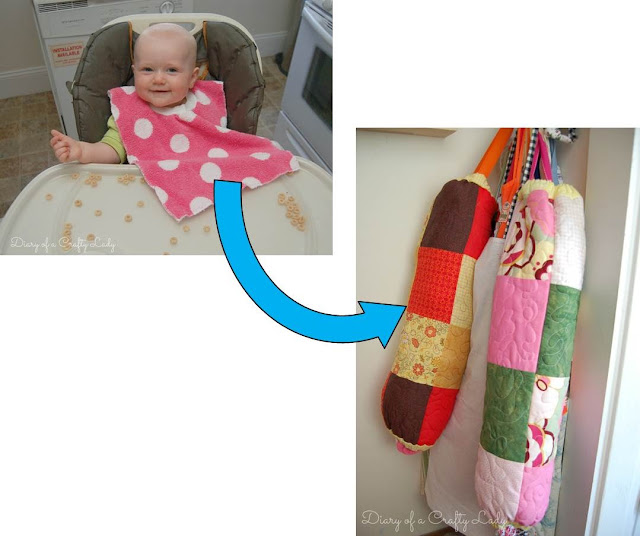 My little nook high chair cover - Diary Of A Crafty Lady Bibs In Bags And Making Mom S Life