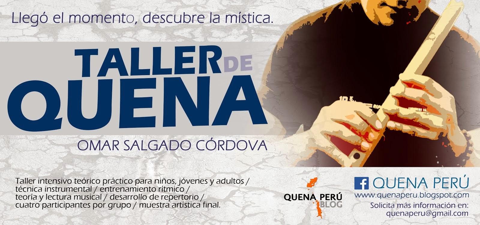 Taller de Quena 2014
