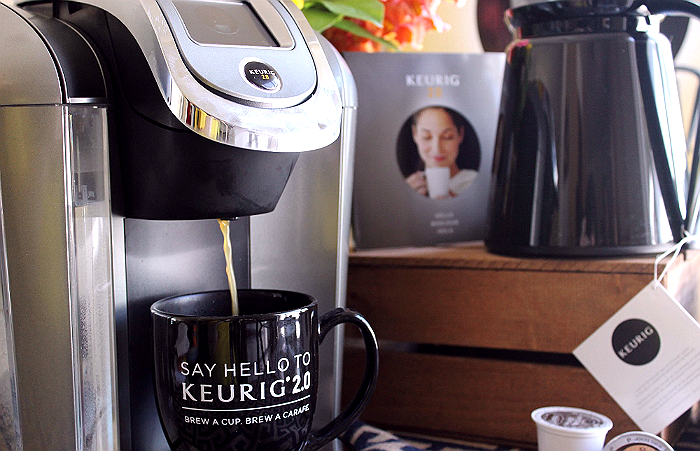 Brew a cup or a Carafe with the new Keurig 2.0 System- Brew A Carafe for baking with coffee!