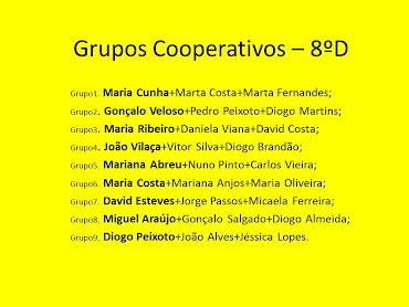 Grupos Cooperativos 2011-2012