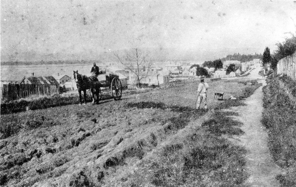 Willow Street circa 1880