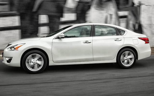 Nissan Altima - modelo mais vendido da Nissan nos EUA