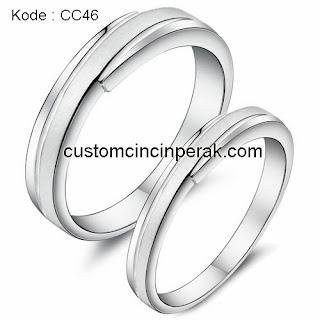 Cincin Perak Pasangan