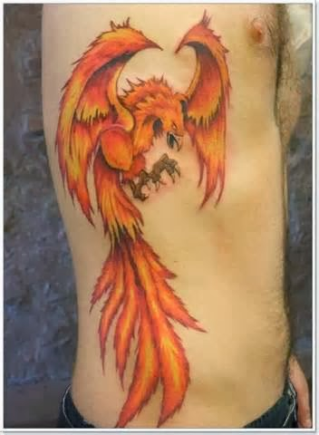 tattoo gallery for men amazing phoenix bird tattoos for men. Black Bedroom Furniture Sets. Home Design Ideas