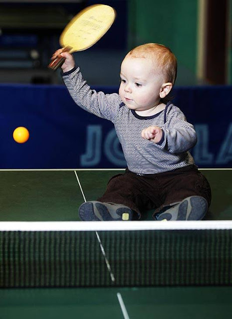 ping pong baby