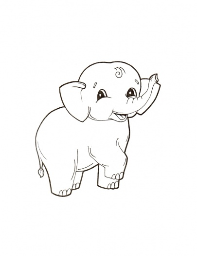 Baby Elephant Coloring Pages Gtgt Disney Coloring Pages