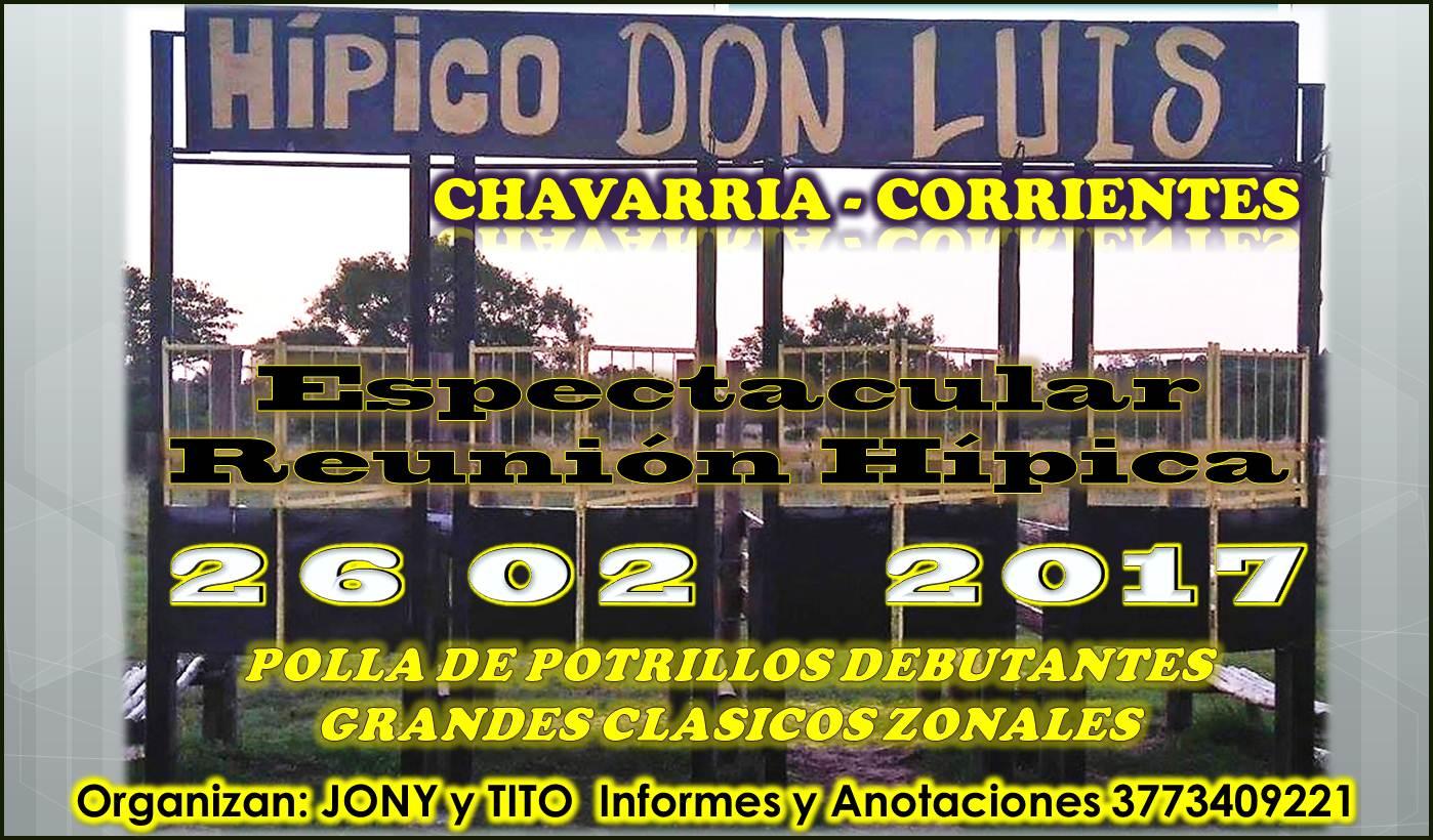 HIPICO CHAVARRIA 26/02/17