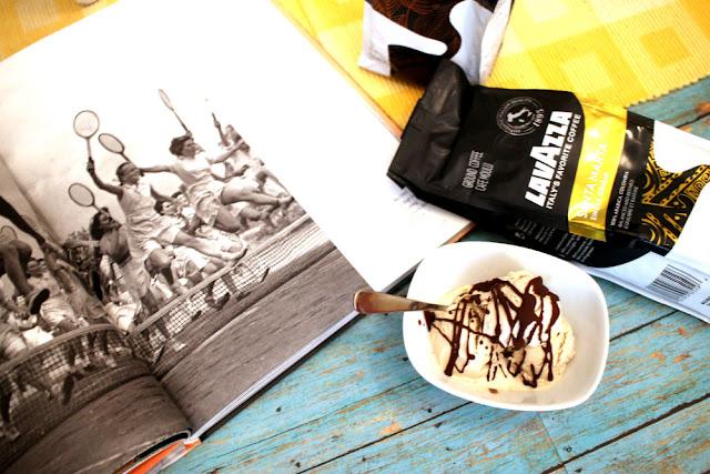 lavazza passionista: santa marta sweet cream ice cream #sponsored #lavazzapassionista