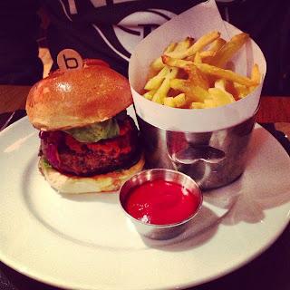 Piggie Burger from Bar Boulud