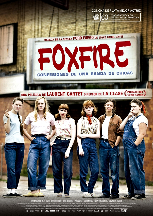 Póster Foxfire. Confesiones de una banda de chicas