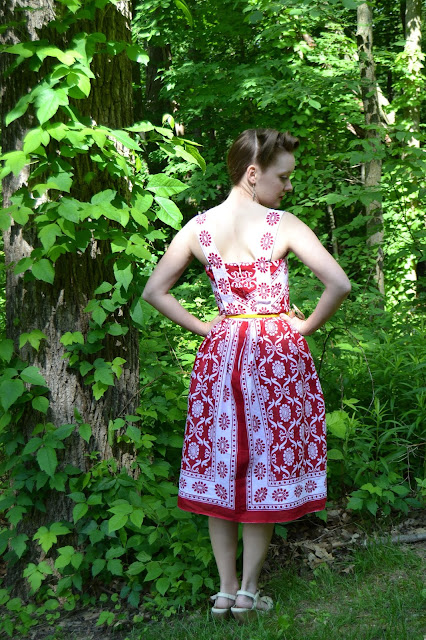 Comoros Vintage Dress- by Flashback Summer