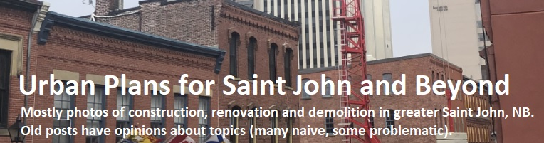 Urban Plans for Saint John and Beyond