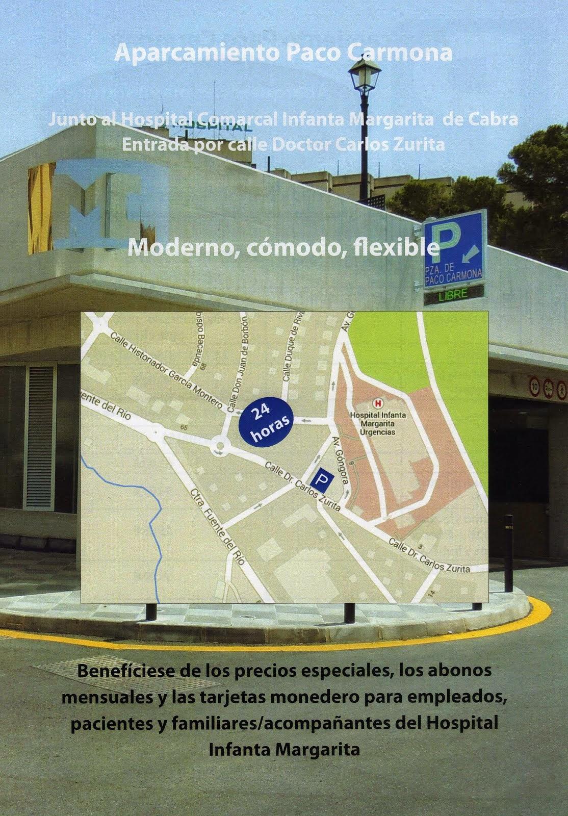 """Nuevas tarifas en el Aparcamiento """"Plaza de Paco Carmona"""""""