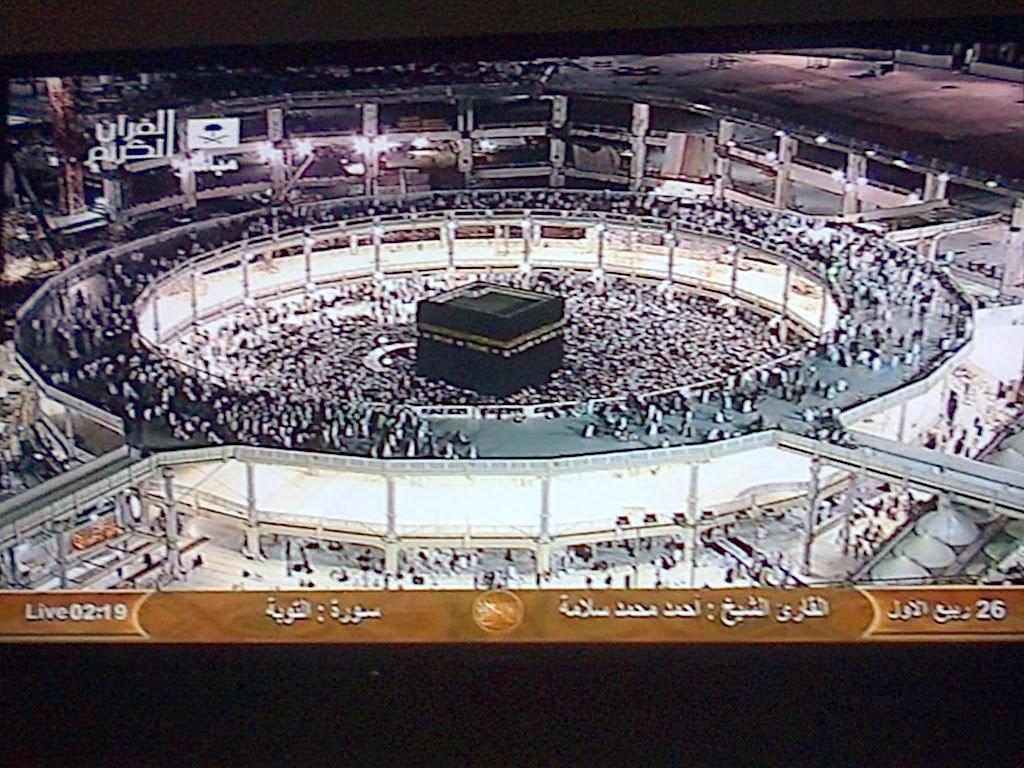 siaran tv arab - kabah mekah
