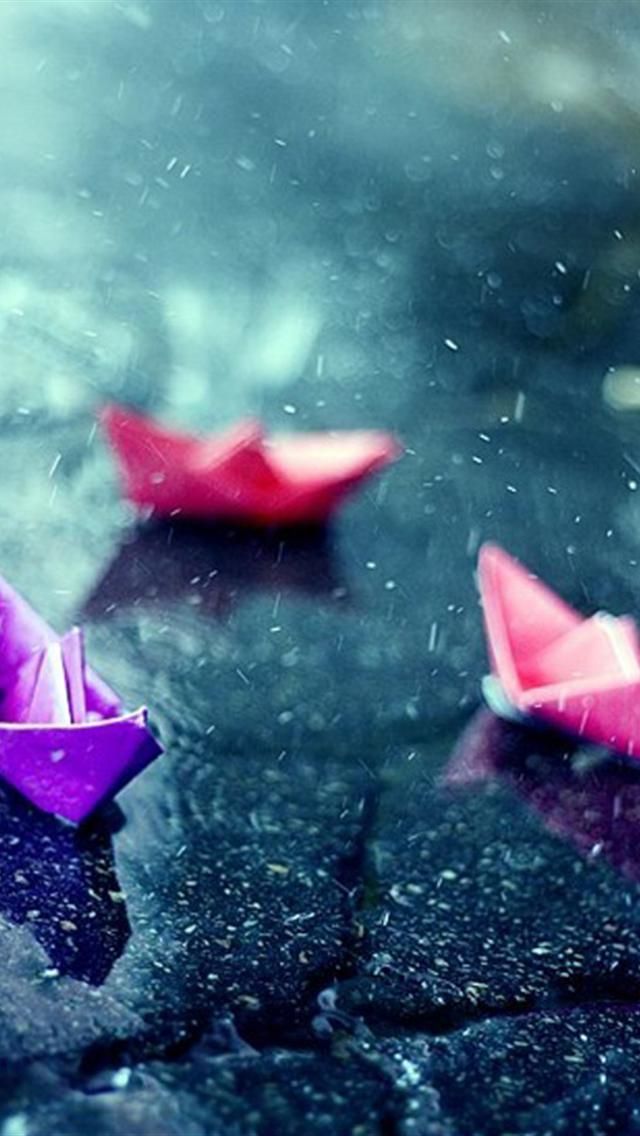 iphone 5 wallpapers hd cute color thousand paper crane