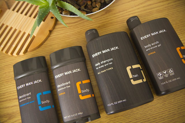 Photo of Every Man Jack products.
