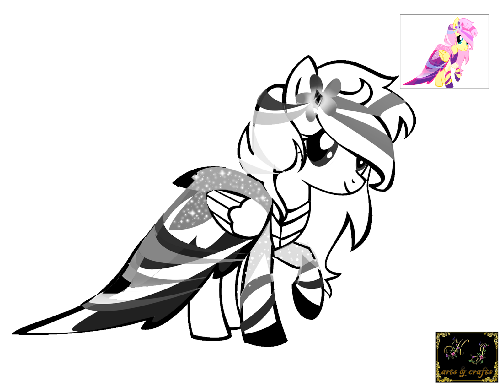 sad pinkie pie coloring pages - photo#35