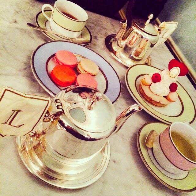 laduree tea and macaroons new york fashion with a view