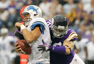 Vikings overtime loss to the Lions
