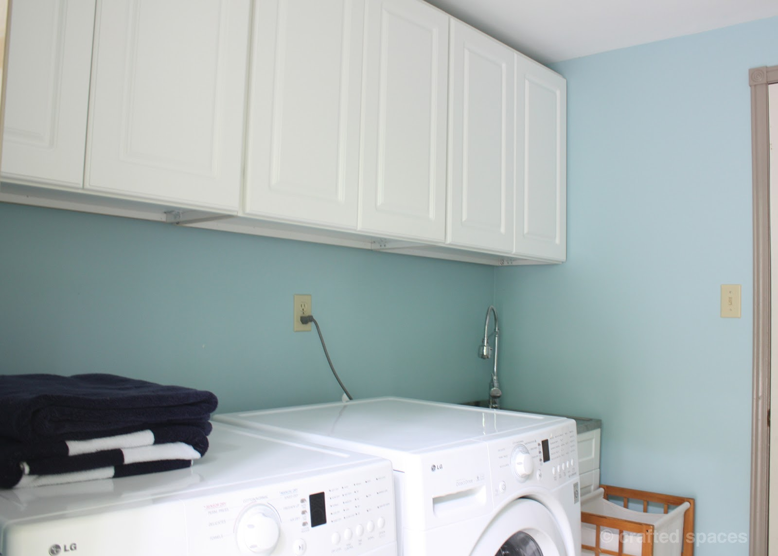 Crafted Spaces: At Home: Laundry Room Makeover