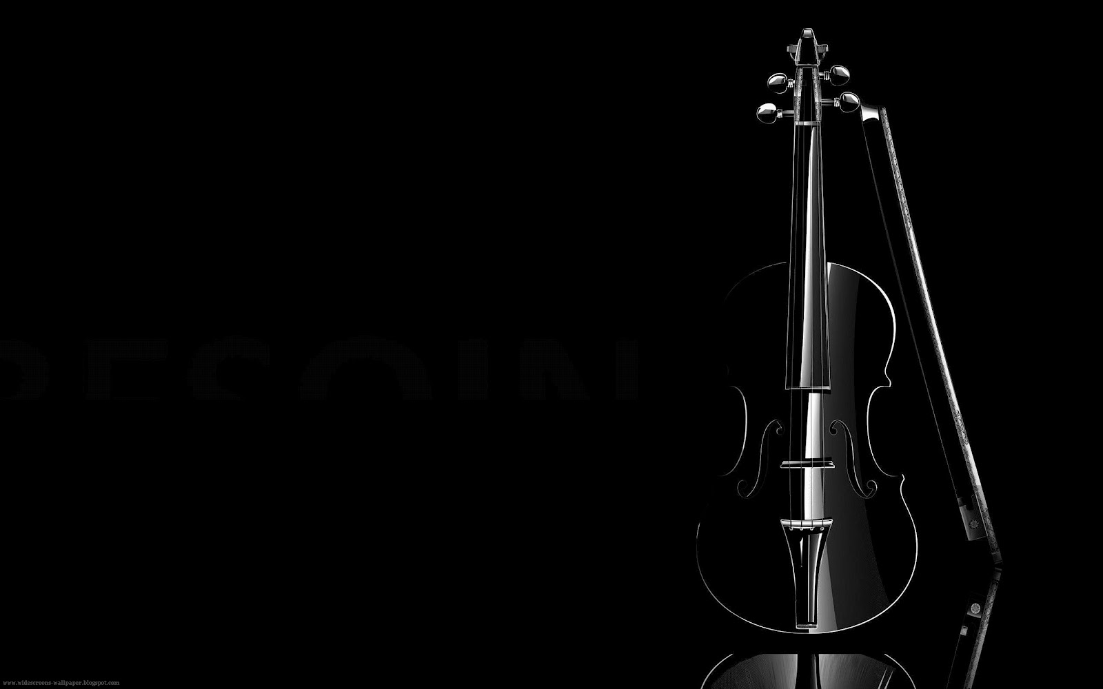 Black and dark violins