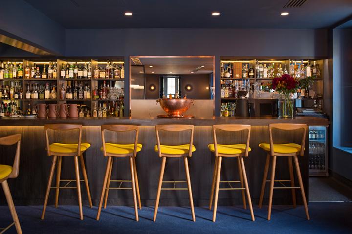Un hotel exclusivo leicester street por universal design for Londres hotel design
