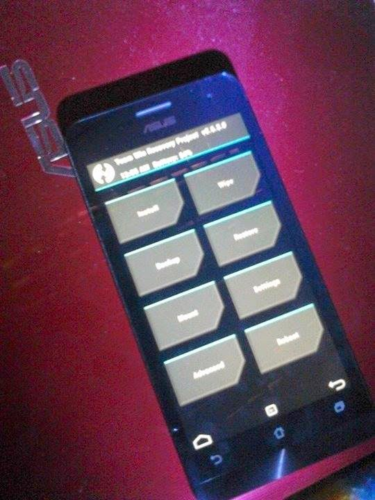 TWRP touch recovery for Zenfone 5 ~ Asus Zenfone Blog News, Tips ...