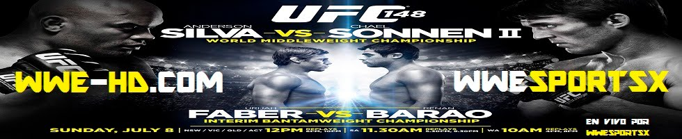 UFC 148 Silva vs Sonnen II En Vivo y En Español,WWE Money In The Bank 2010 en vivo