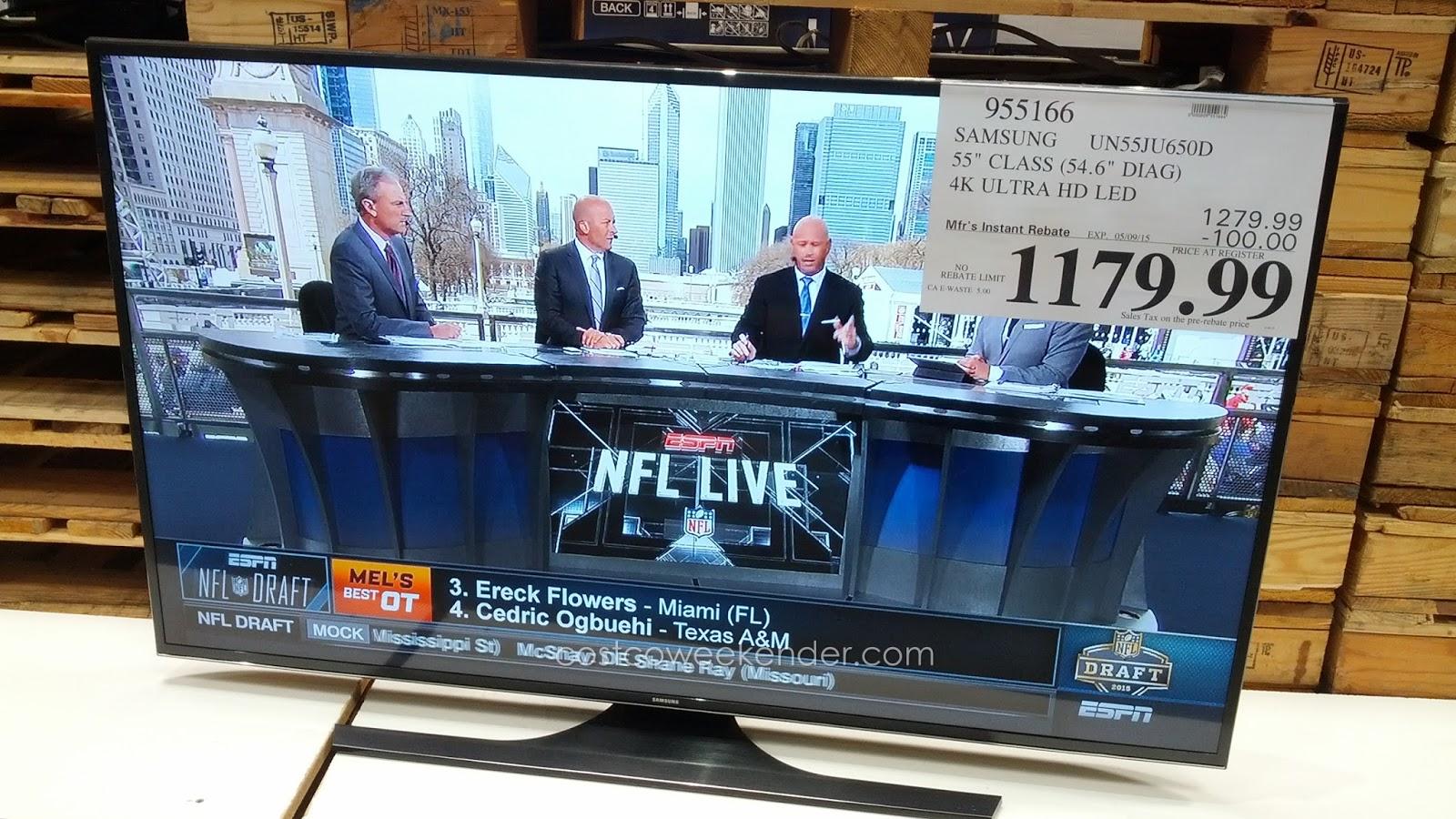 55 inch led tv deals costco