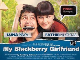 my blackbery girl friend