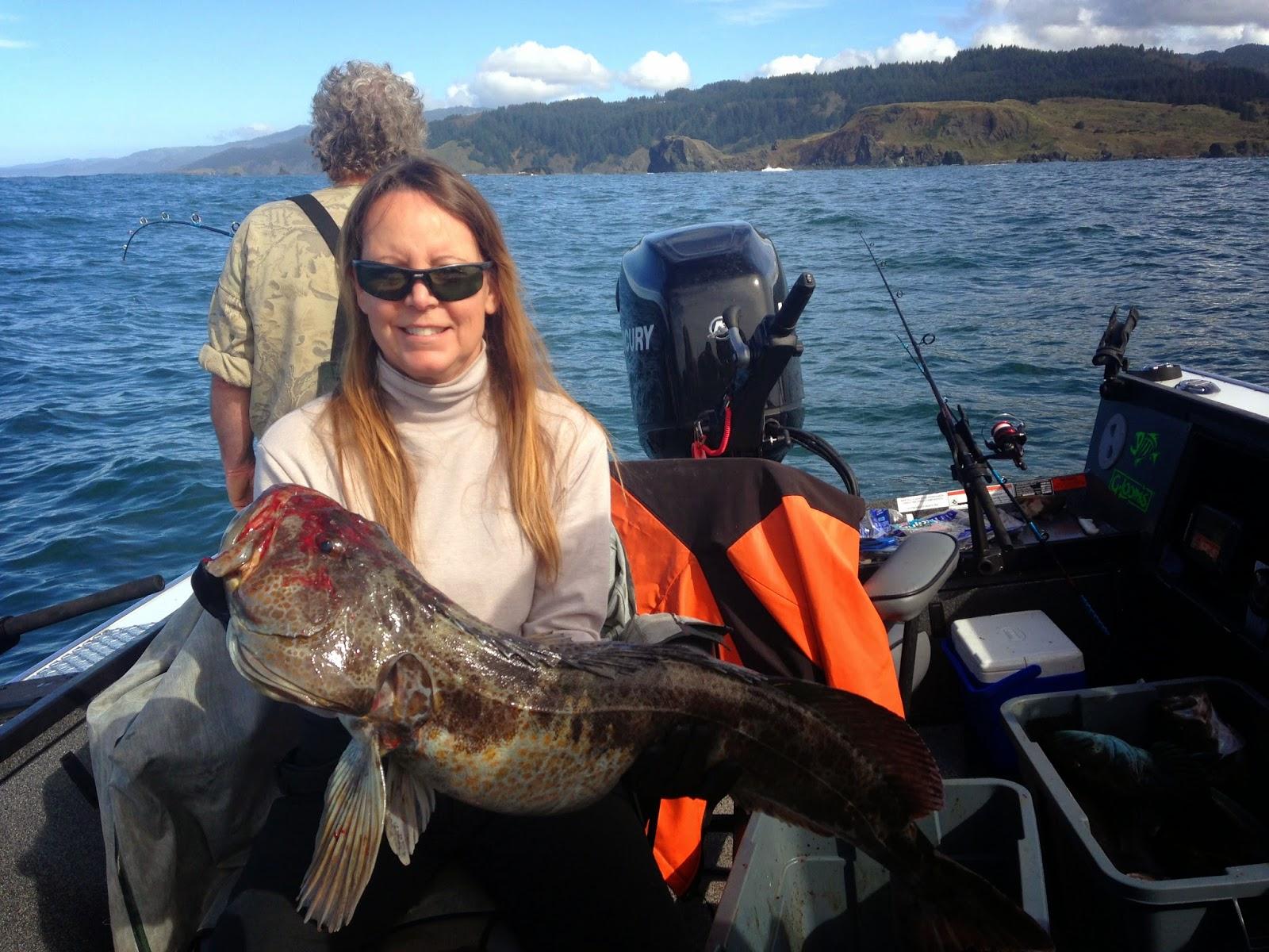 Brookings oregon fishing charters brookings lingcod and for Brookings fishing charters
