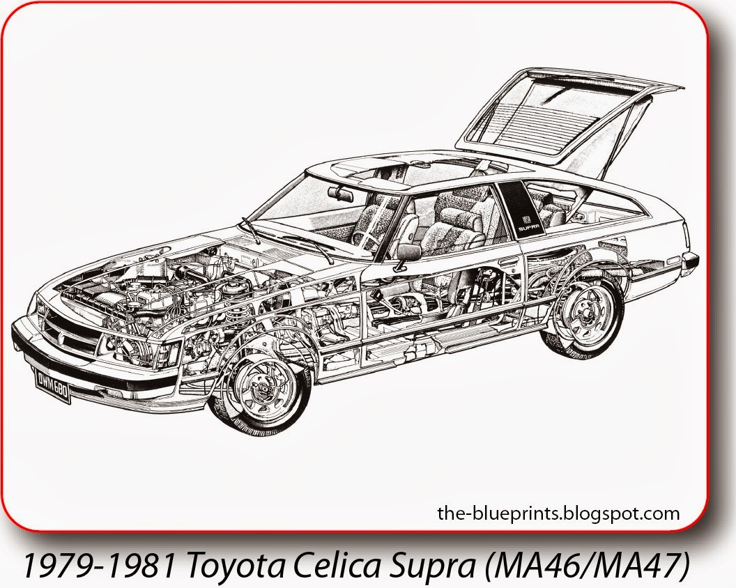 1998 Toyota Celica Blueprint Wiring Diagrams 1993 Engine Diagram Vector Blueprints Cars Trucks Busses And Others