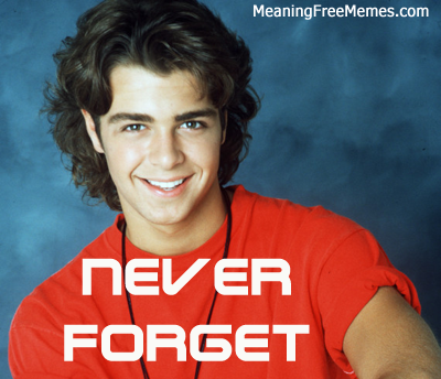 Joey Lawrence Never Forget