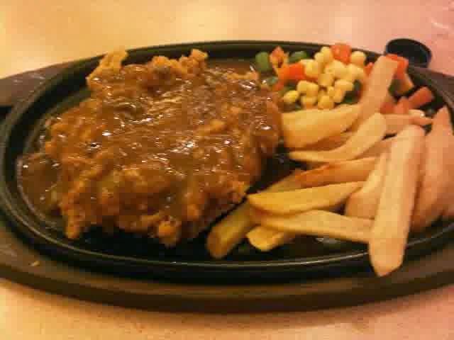 Resep Steak Ayam Hot Plate