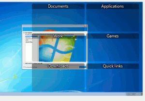 organizzare desktop cartelle e riquadri