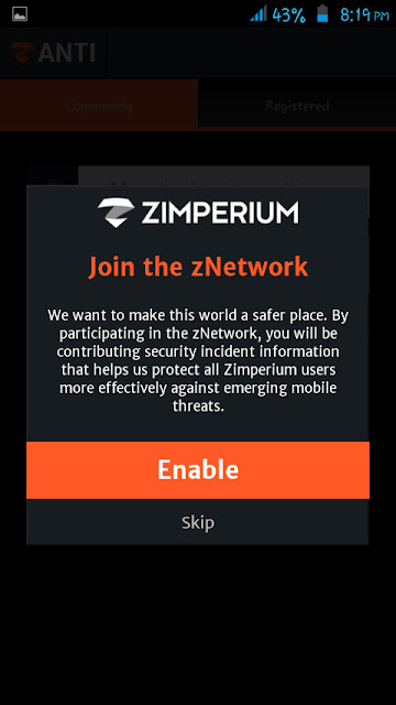 Zimperium Network