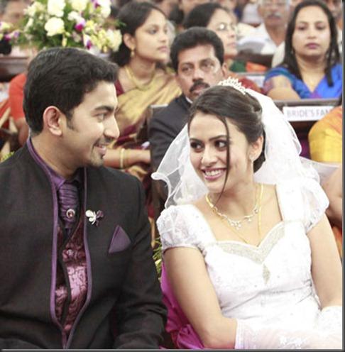 Malayalam Actress Dhanya Mary Varghese Got Married To Actor And Businessman John Jacob On January 9 At Thiruvananthpuram LMS Church In Palayam