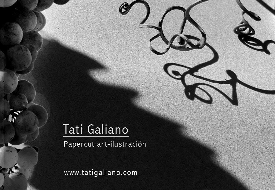 Tati Galiano. Papercut Art