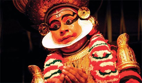 Koodiyattam - ancient dance of Kerala, India