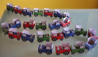 Tractor traktatie van Annekoendigitaal