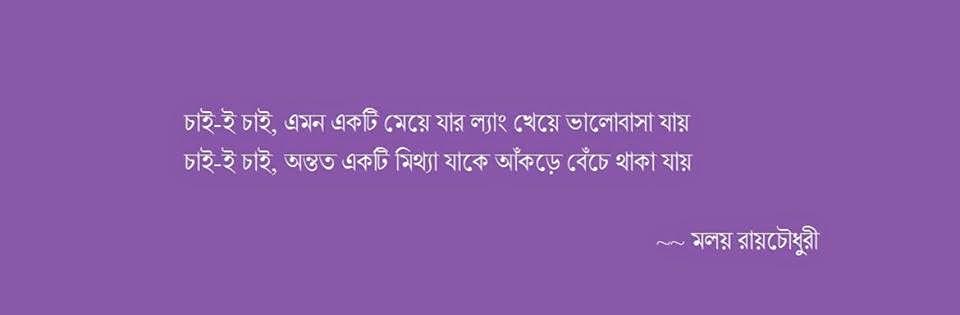 Malay Roychoudhury's Quotation