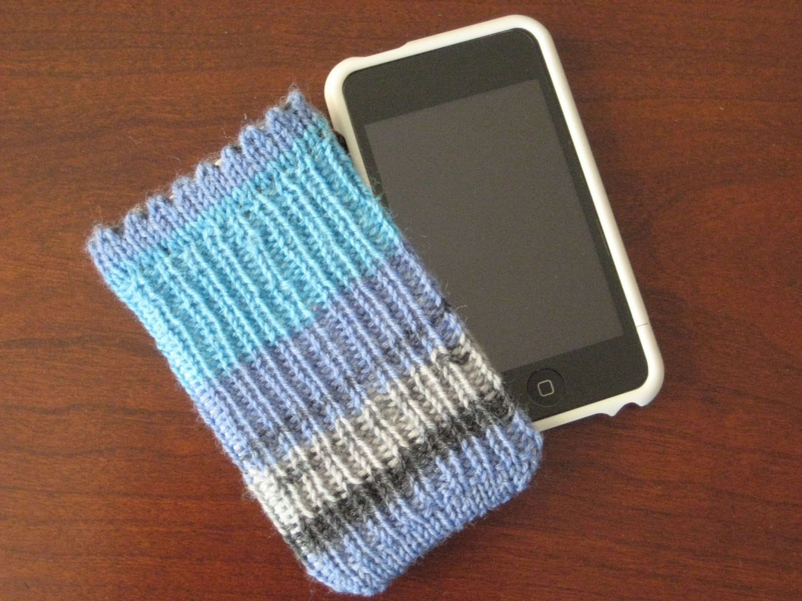Knitting Pattern For Ipod Sock : Rhondas Knitting Blog