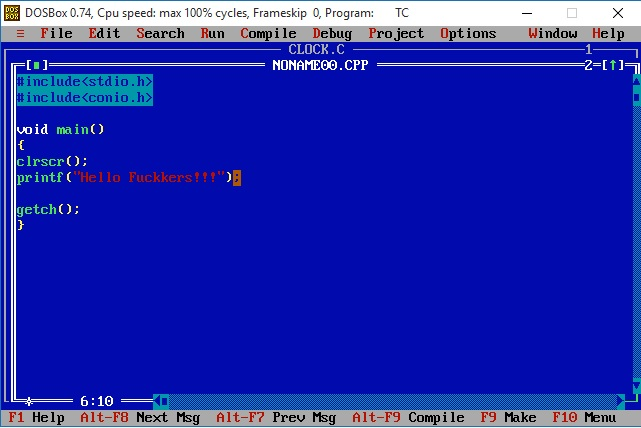 memory game c++  for windows 7
