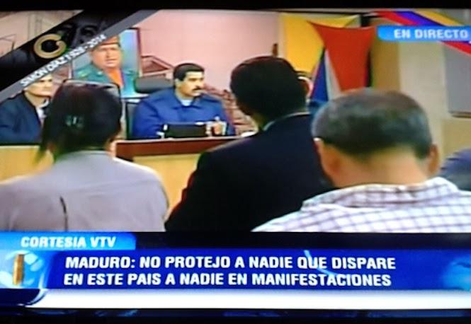 Maduro convocó un diálogo con el gobierno de EEUU