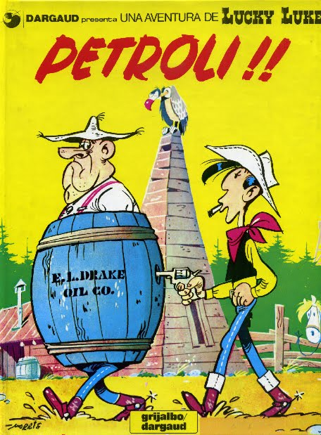 Resultat d'imatges de Petroli!! Lucky Luke